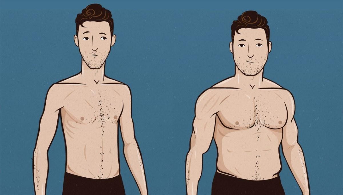 Dieta adequada e exercícios para pessoas com dificuldade de ganhar peso