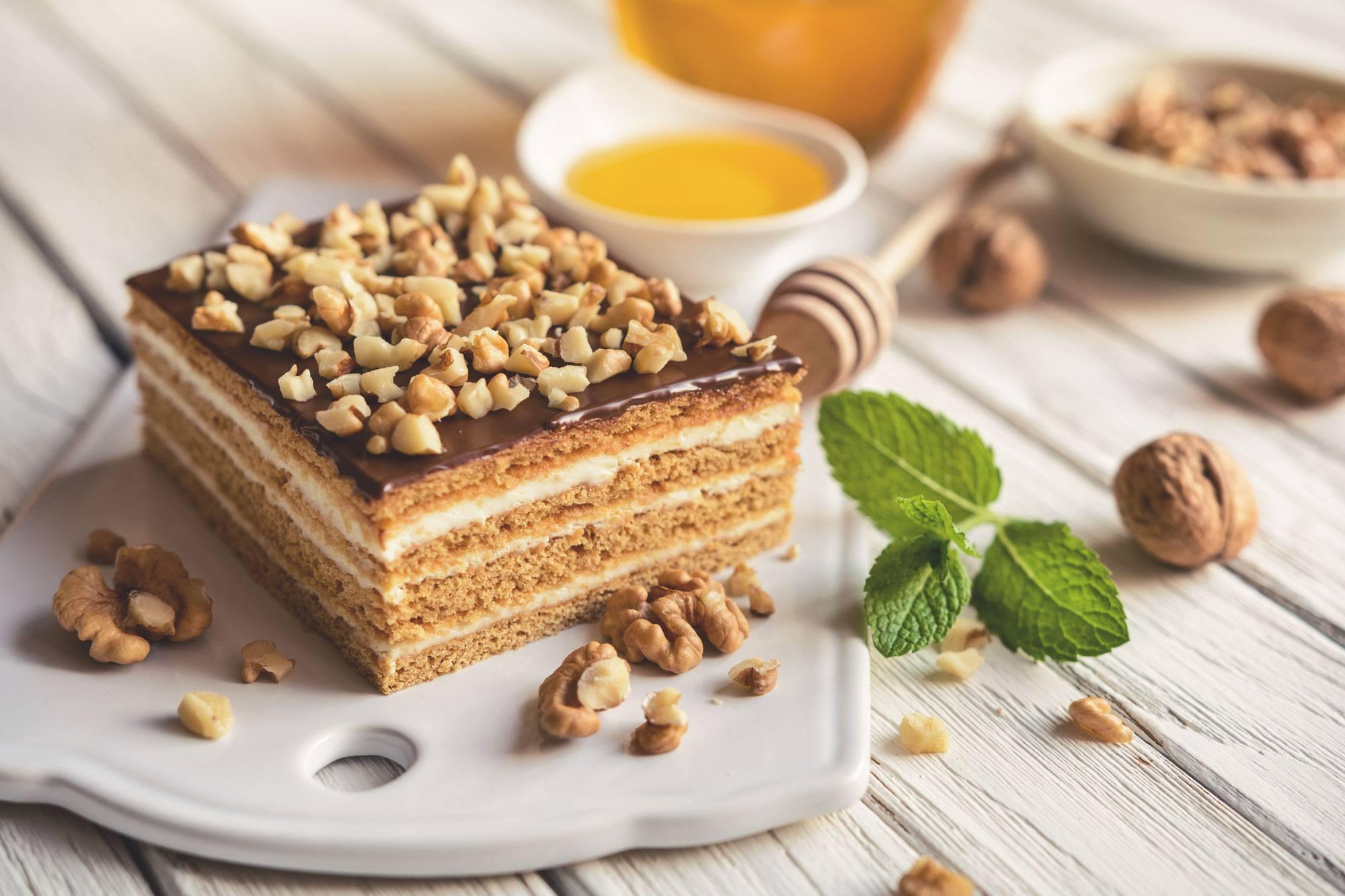 Torta de Nozes deliciosa com Nutren 2.0