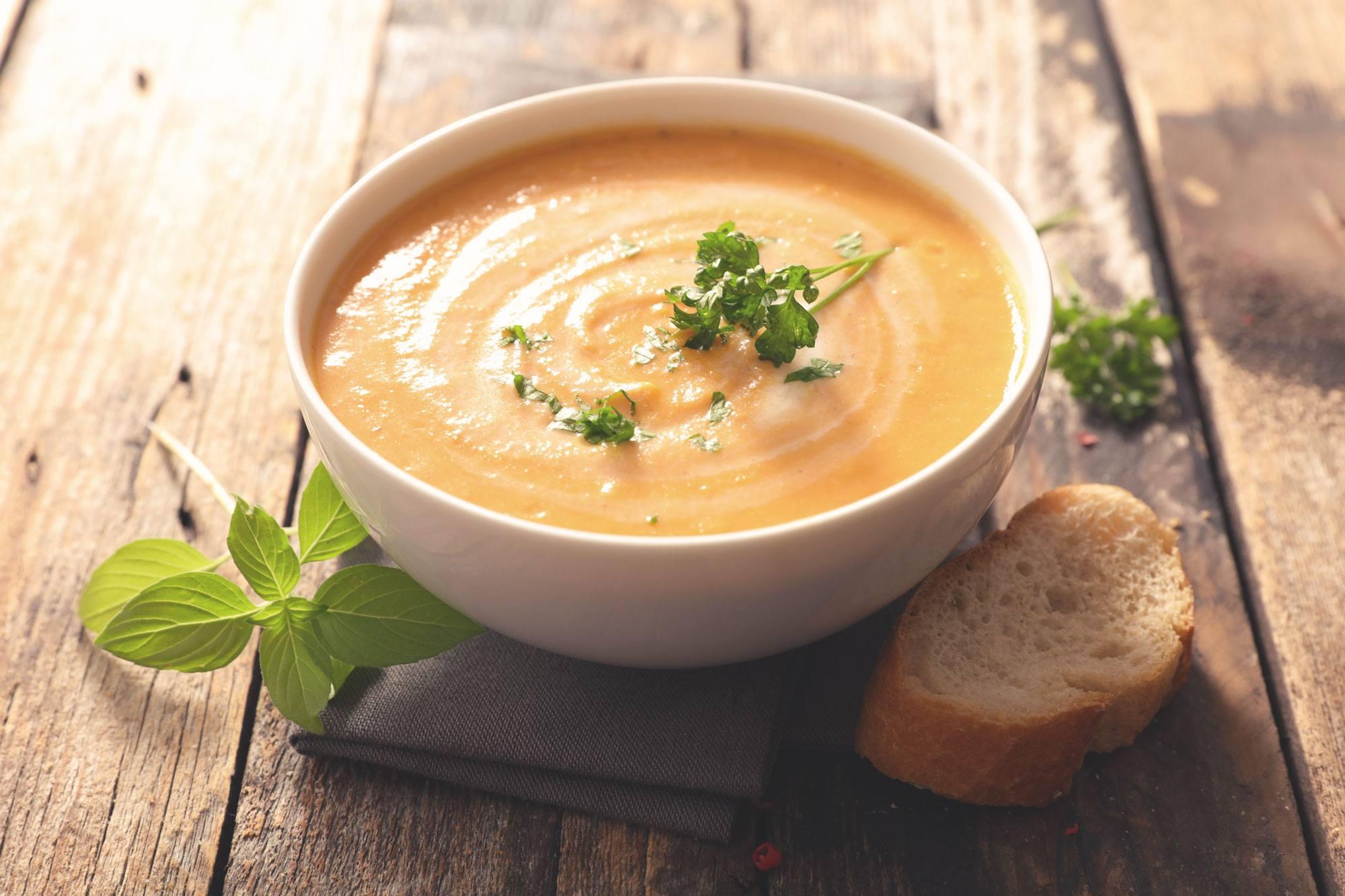 Sopa Creme de Abóbora – Nutren Active de Baunilha