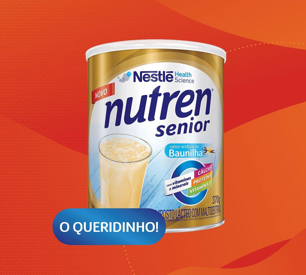 Conheça a família Nutren Senior