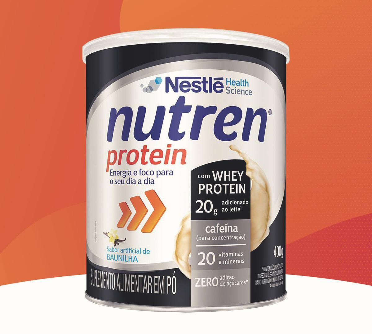 Nutren Protein: o novo complemento alimentar da Nestlé