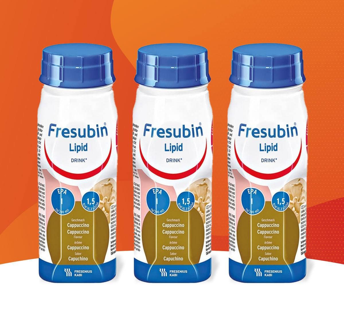 Fresubin Lipid Drink: nutrição completa, hipercalórica e hiperprotéica