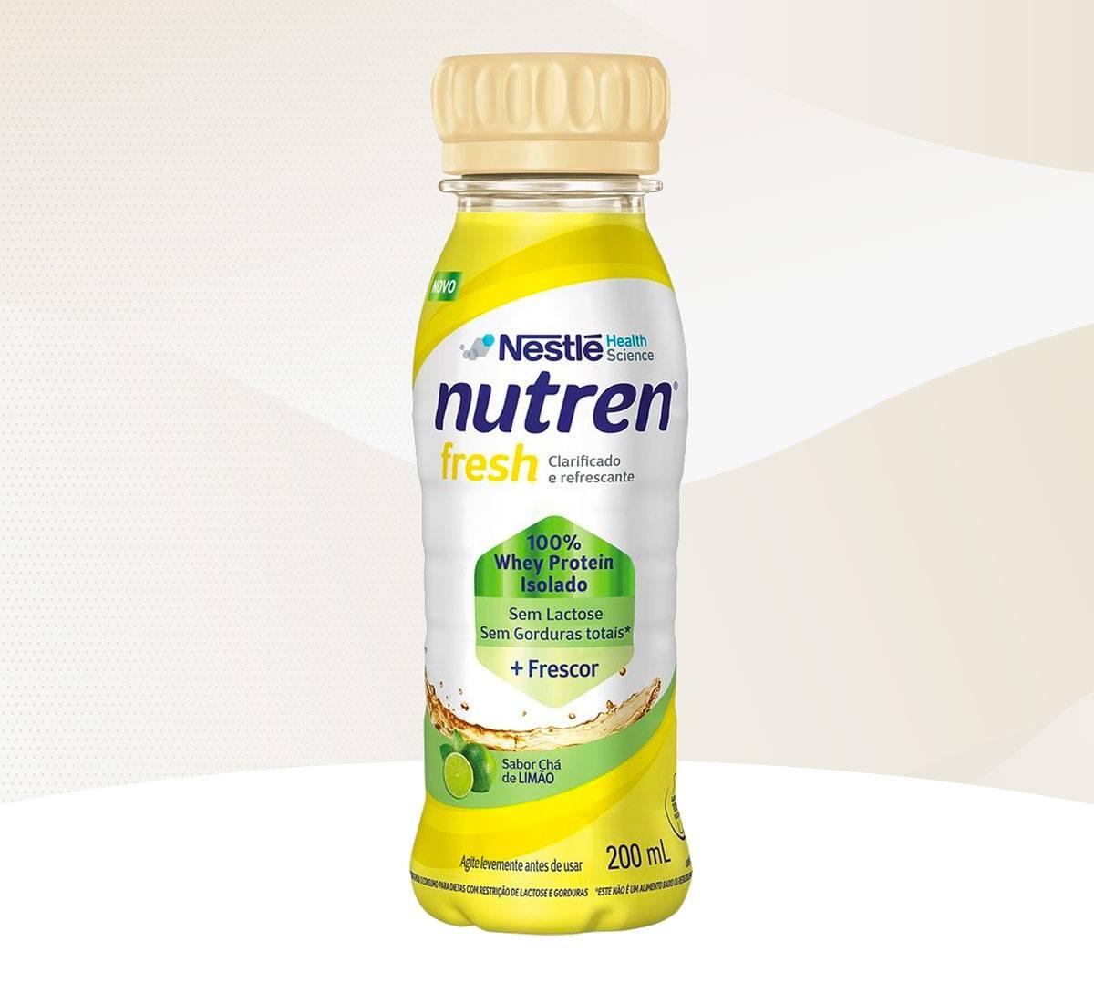 Lançamento: Nutren Fresh – Chá de Limão chega ao mercado
