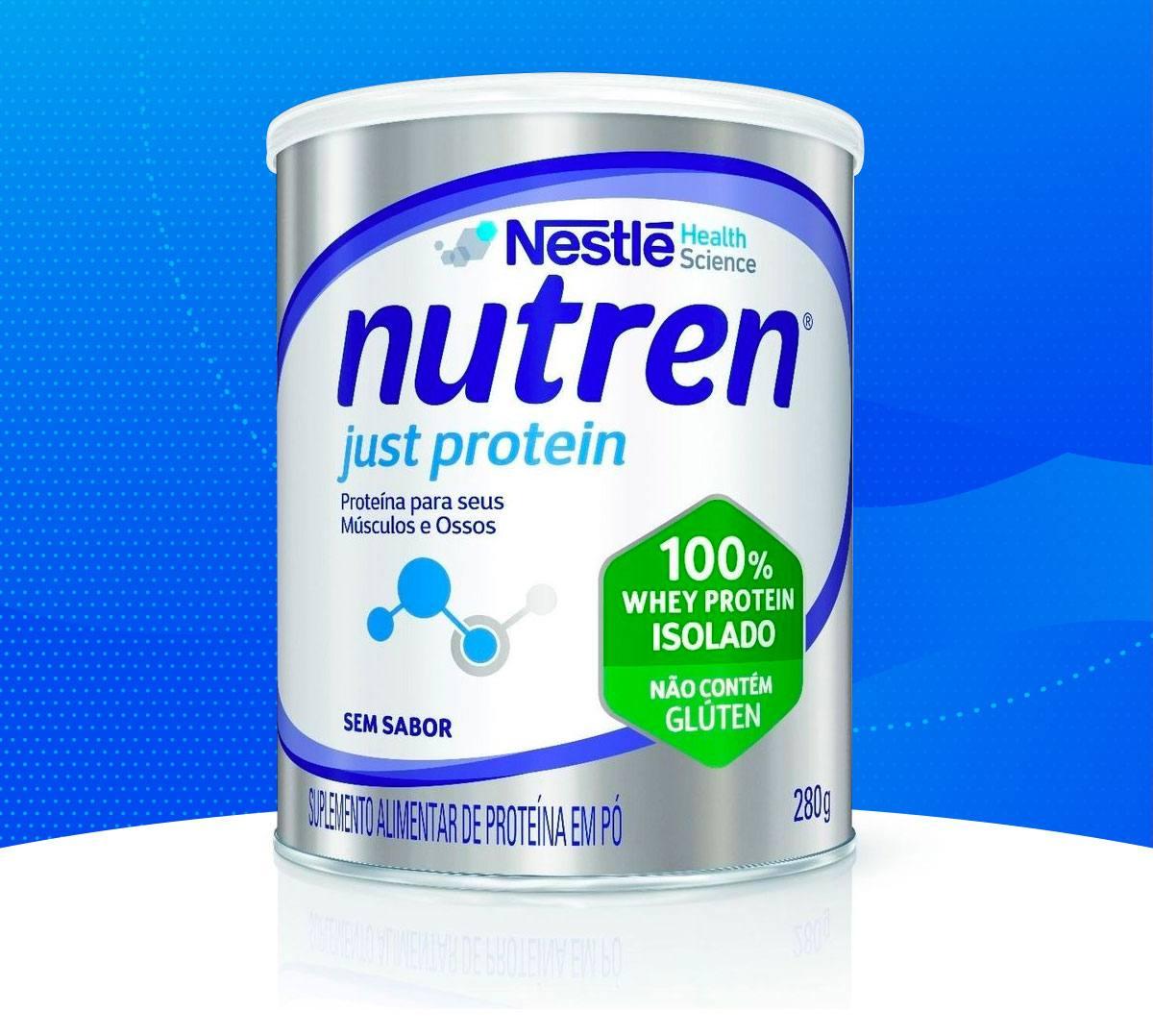 Toda força de Nutren Just Protein